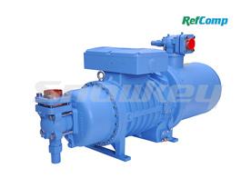 SRC-S满液/降膜式专用螺杆压缩机