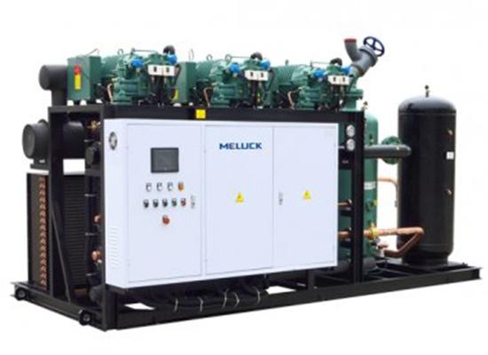 低温/螺杆并联压缩机组